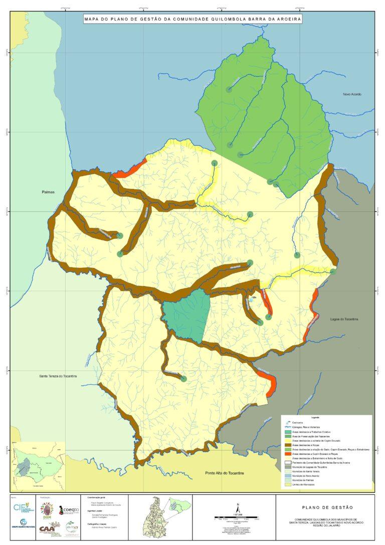 Barra de Aroeira Quilombola Community's Management Plan
