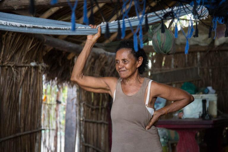 Ms. Raimunda Santos, the matriarch of Tauá's squatter families.