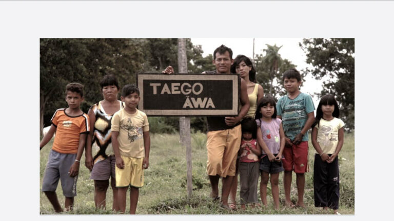 Avá-Canoeiro people defend their Taego Ãwa Indigenous Land.