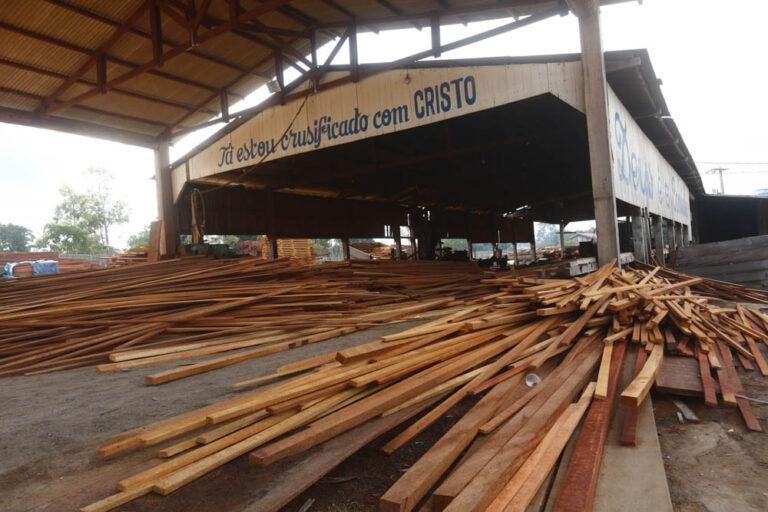 Serraria recebia madeira extraída de trabalho escravo em Uruará